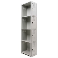 Шкаф для раздевалок усиленный ML-04-30 доп модуль
