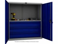 Шкаф инструментальный металлический Практик ТС 1095-001030