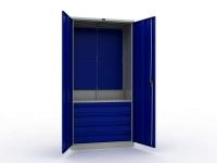 Шкаф инструментальный металлический Практик ТС 1995-004020