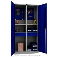 Шкаф инструментальный металлический Практик ТС 1995-120402 -  -