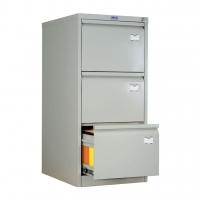 Шкаф картотечный металлический Практик AFC-03