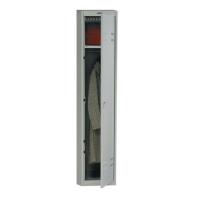 Шкаф металлический для одежды Практик AL-01