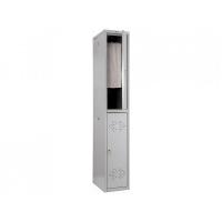 Шкаф металлический для одежды Практик LS-02