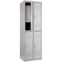 Шкаф металлический для одежды Практик LS-22-50