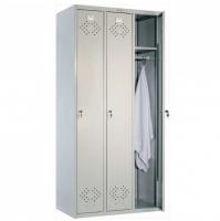 Шкаф металлический для одежды Практик LS-31