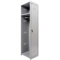 Шкаф металлический для одежды Практик ML-01-40 дополнительный модуль