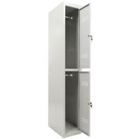 Шкаф металлический для одежды Практик ML-12-30 базовый модуль