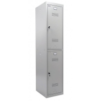 Шкаф металлический для одежды Практик ML-12-40 базовый модуль