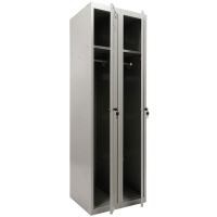 Шкаф металлический для одежды Практик ML-21-60 базовый модуль