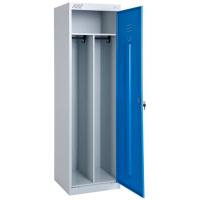 Шкаф металлический для одежды ШРЭК 21-530 разборный