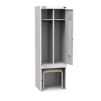 Шкаф металлический для раздевалок ШРК 22-600 ВСК