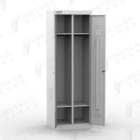 Шкаф металлический для раздевалок усиленный ТМ 12-80 по ГОСТу