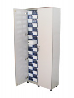 Шкаф с дверьми Стелла-техник С-2-90Д на 90 коробов, ЛДСП