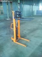 Штабелер ручной гидравлический 1 тонна 1.6 метра