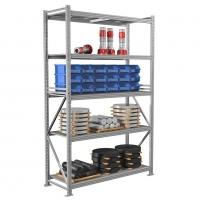 Стеллаж металлический MS Pro 250/150X60/5 500 кг 5 полок (2500 Х 1500 Х 600) -  -
