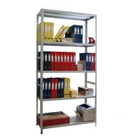 Стеллаж металлический MS Standart 100 кг 5 полок (2200 Х 700 Х 400) -