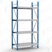 Стеллаж металлический SGR 1564-2,5 500 кг 4 полки (2500 Х 1500 Х 600)