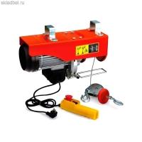 Таль электрическая (тельфер) 220 вольт 250/500 кг