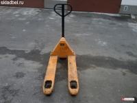 Тележка гидравлическая (рохля) БУ 2500 кг
