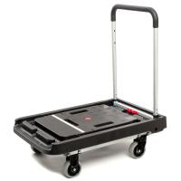 Тележка платформенная MAGNA CART FF-XL складная, алюминий, сталь, пластик, грузоподъемность 200кг