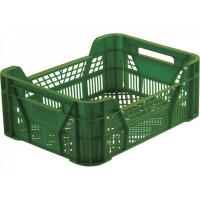 Ящик для фруктов 110 зеленый 400х300х155