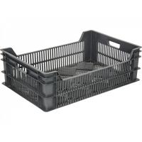 Ящик фруктовый 106 черный 600х400х200
