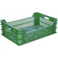 Ящик фруктовый 106 зеленый 600х400х200