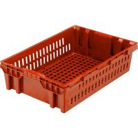 Ящик хлебный 403 красный 600x400x152,5