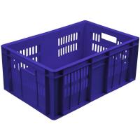 Ящик колбасный 201-1 синий 600х400х250