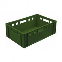 Ящик мясной 207 зеленый 600x400x200