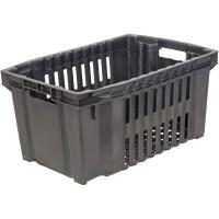 Ящик овощной 105 черный 540х360х260