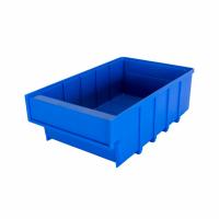 Ящик пластиковый для склада Б 300х185х100 синий