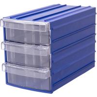 Ящик пластиковый модульный 110x90x160 мм /3 арт.PD Y 93, синий