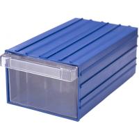 Ящик пластиковый модульный 230x136x96 мм арт.PD 140, синий