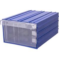 Ящик пластиковый модульный 230x173x110 мм арт.PD 175, синий