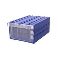 Ящик пластиковый модульный 302x210x124 мм арт.PD 501, синий