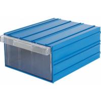 Ящик пластиковый модульный 340x260x150 мм арт.PD 510, синий