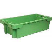 Ящик рыбный 211 зеленый 800х400х225