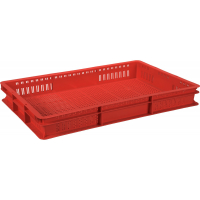 Ящик универсальный 423 красный 600x400x75