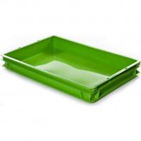 Ящик универсальный 424 зеленый 600x400x75
