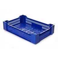 Ящик ягодный 119 синий 600х400х135