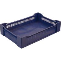 Ящик ягодный 120 синий 600х400х135