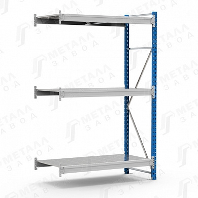 Дополнительная секция к стеллажу SGR 1583-2,0 DS 500 кг 3 полки (2000 Х 1500 Х 800)