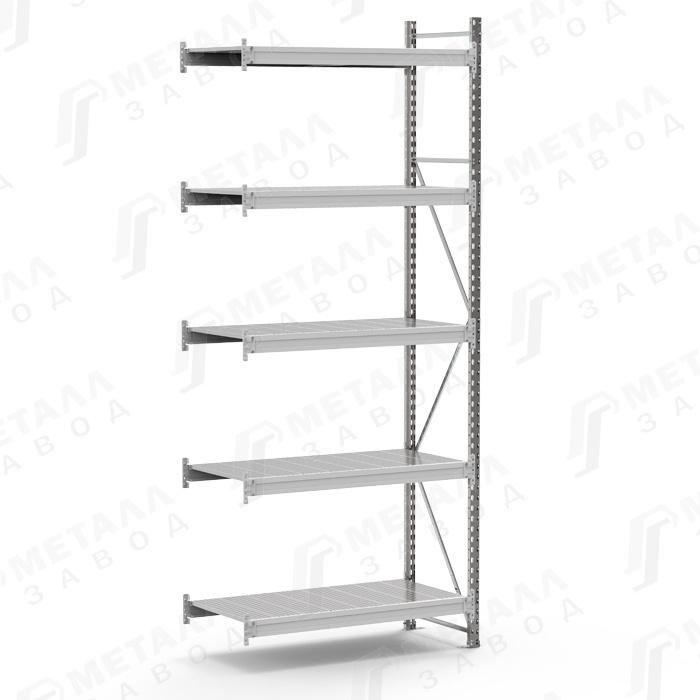 Дополнительная секция к стеллажу SGR 18105-3,0 DS 500 кг 5 полок (3000 Х 1800 Х 1000)