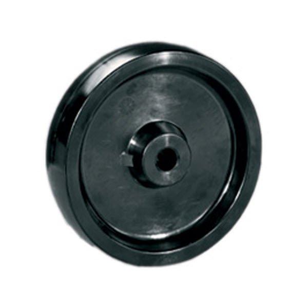 Колесо 160/45 ПП-Ч-НТ (Черное, полипропилен от -40 до+80С) ступица 57мм