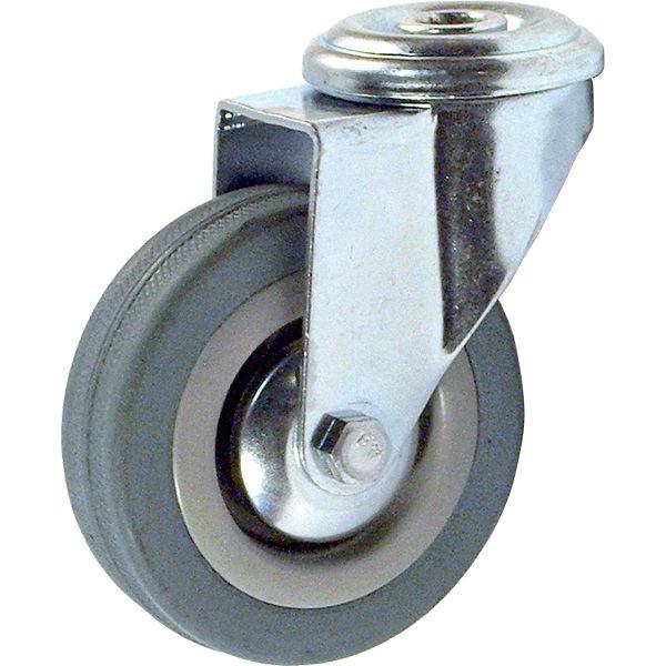 Колесо аппаратное поворотное под болт SChg 42 (D 100)