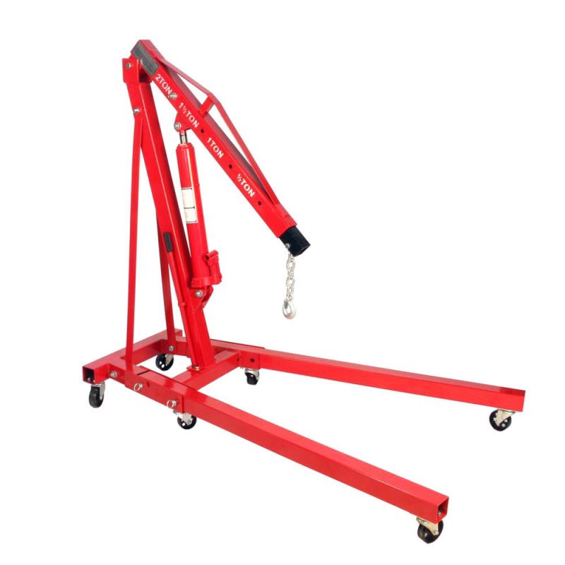 Кран гидравлический Torin PL-EC90101 г/п 1 т складной