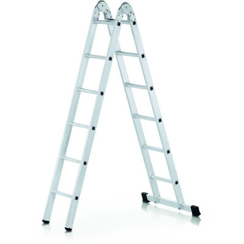 Лестница LWI 2х14 двухсекционная универсальная 14 ступеней