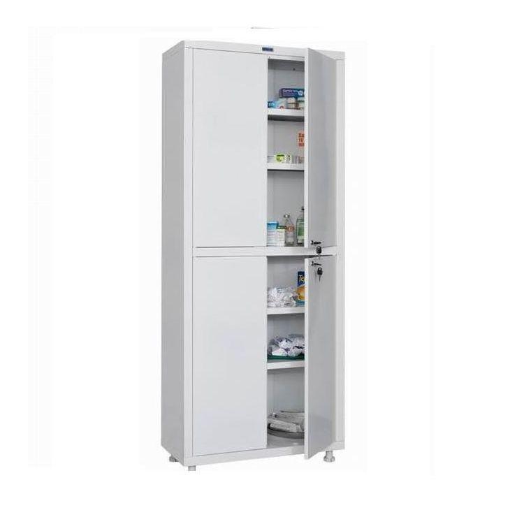 Медицинский шкаф двухстворчатый HILFE МД 2 1670/SS