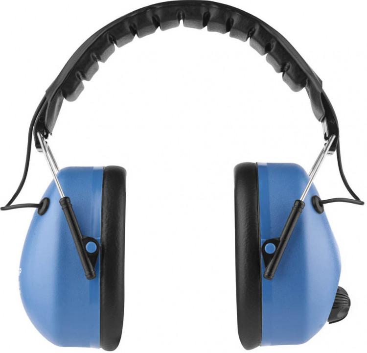 Наушники защитные ЗУБР ЭКСПЕРТ защита до 107дБ, усиливают звук речи и снижают шум, активные